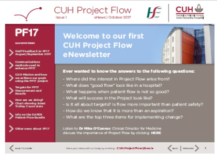 launch of enewsletter pf17